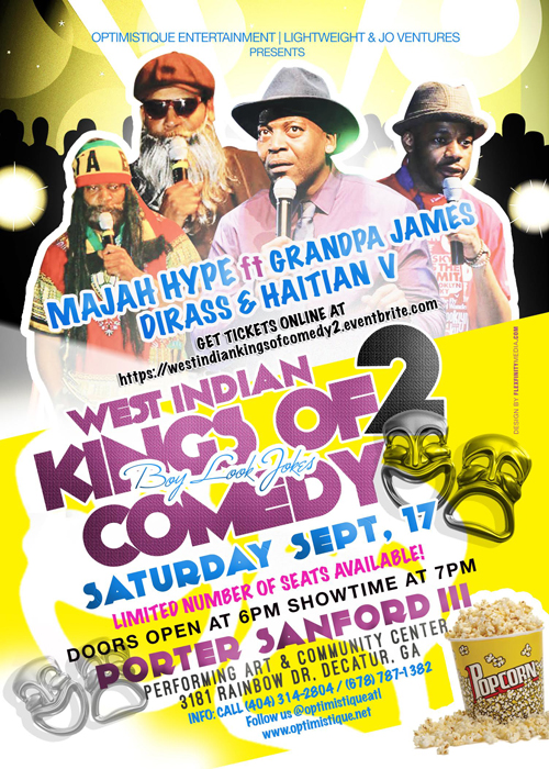 West Indian Kings of Comedy pt2 2016 Poster